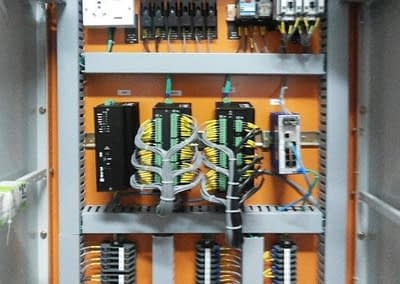 HV Substation Automation System with Modbus and IEC 60870–5‑101/104 (India)